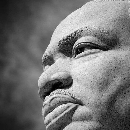 martin luther king photo by LuAnn Hunt