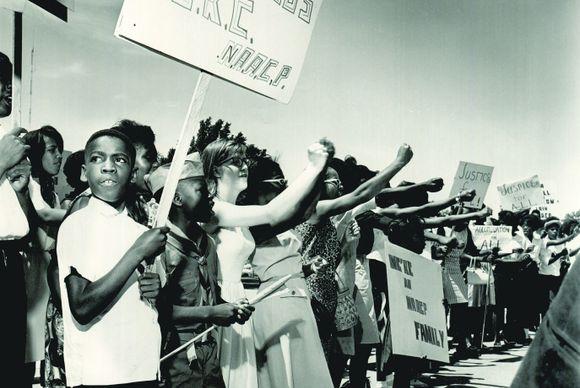 Freedom Road   Civil Rights Protestors