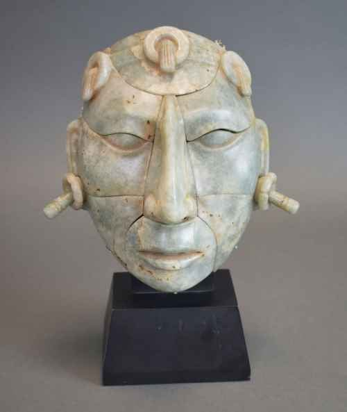 Articulated Mask, Maya (Mexico) ca. 800 1400 (Gift of Ed Harris, IL)