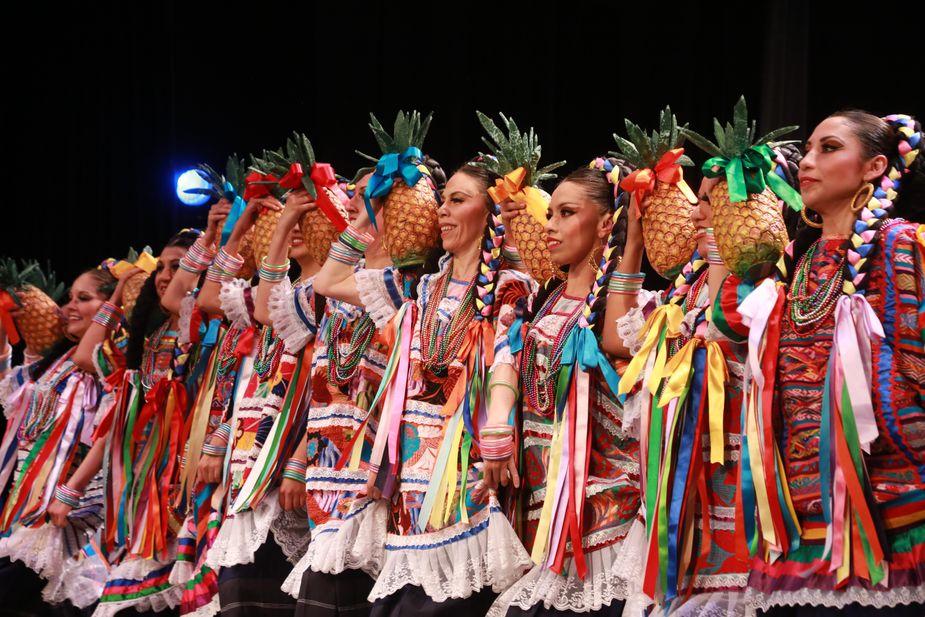 Colorful, musical, elegant, energetic: Ballet Folclórico Nacional de México de Silvia Lozano brings all that and more to Armstrong Auditorium in Edmond.