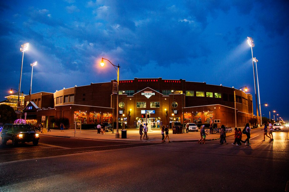 Big 12 Baseball takes over the Chickasaw Bricktown Ballpark this week. Photo by Lori Duckworth