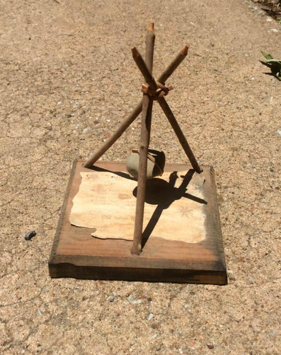 Rock/Wood piece