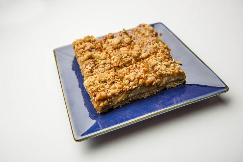 Caramel Apple Cheesecake Bars. Photo by Lori Duckworth