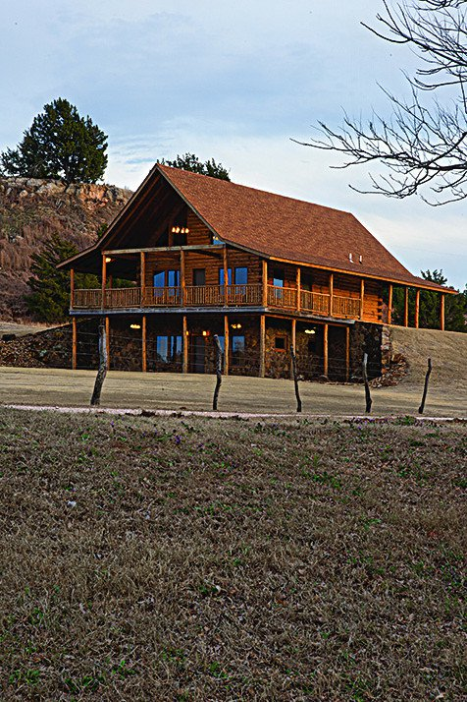 Cedar Haven Lodge near Waynoka. Photo by John Jernigan