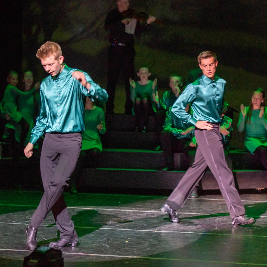 """""""Celtic Throne"""" at Armstrong Auditorium brings the history of Irish dance to life. Photo courtesy Armstrong Auditorium"""