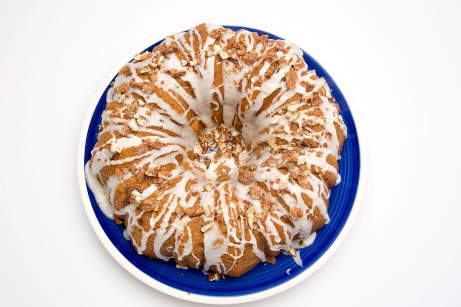 Cinnamon Pecan Cake. Photo by Lori Duckworth