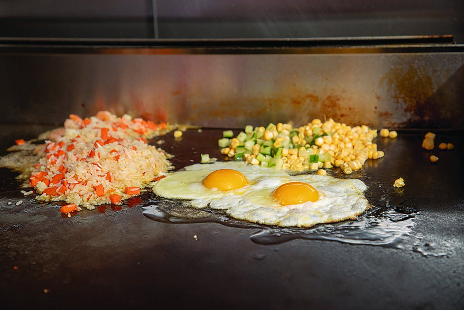 Fried rice gets the star treatment at The Noodle Shop. Photo by Lori Duckworth