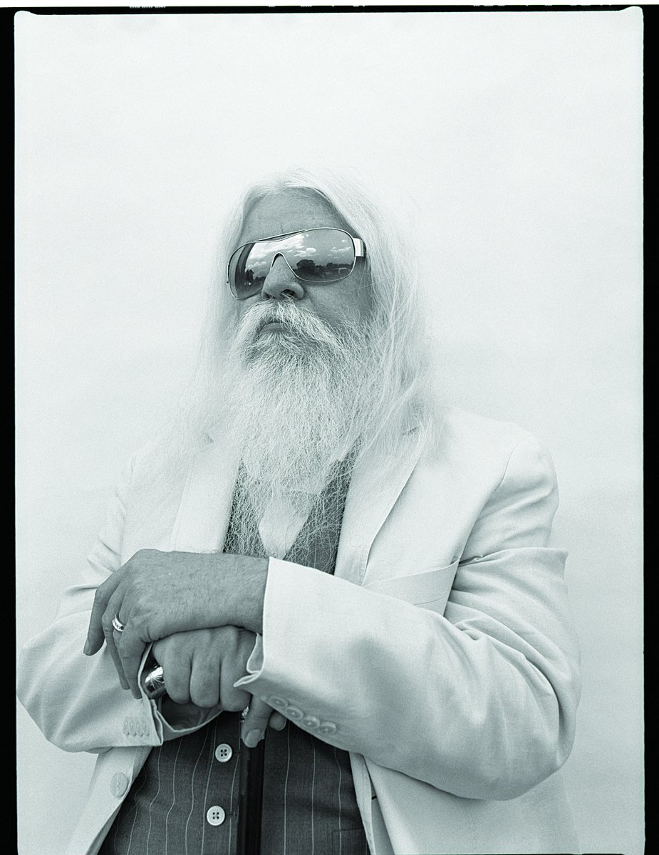 Leon Russell, photographed in early 2014, has become a reluctant figurehead for the musical movement known as the Tulsa Sound. Photo by David McClister