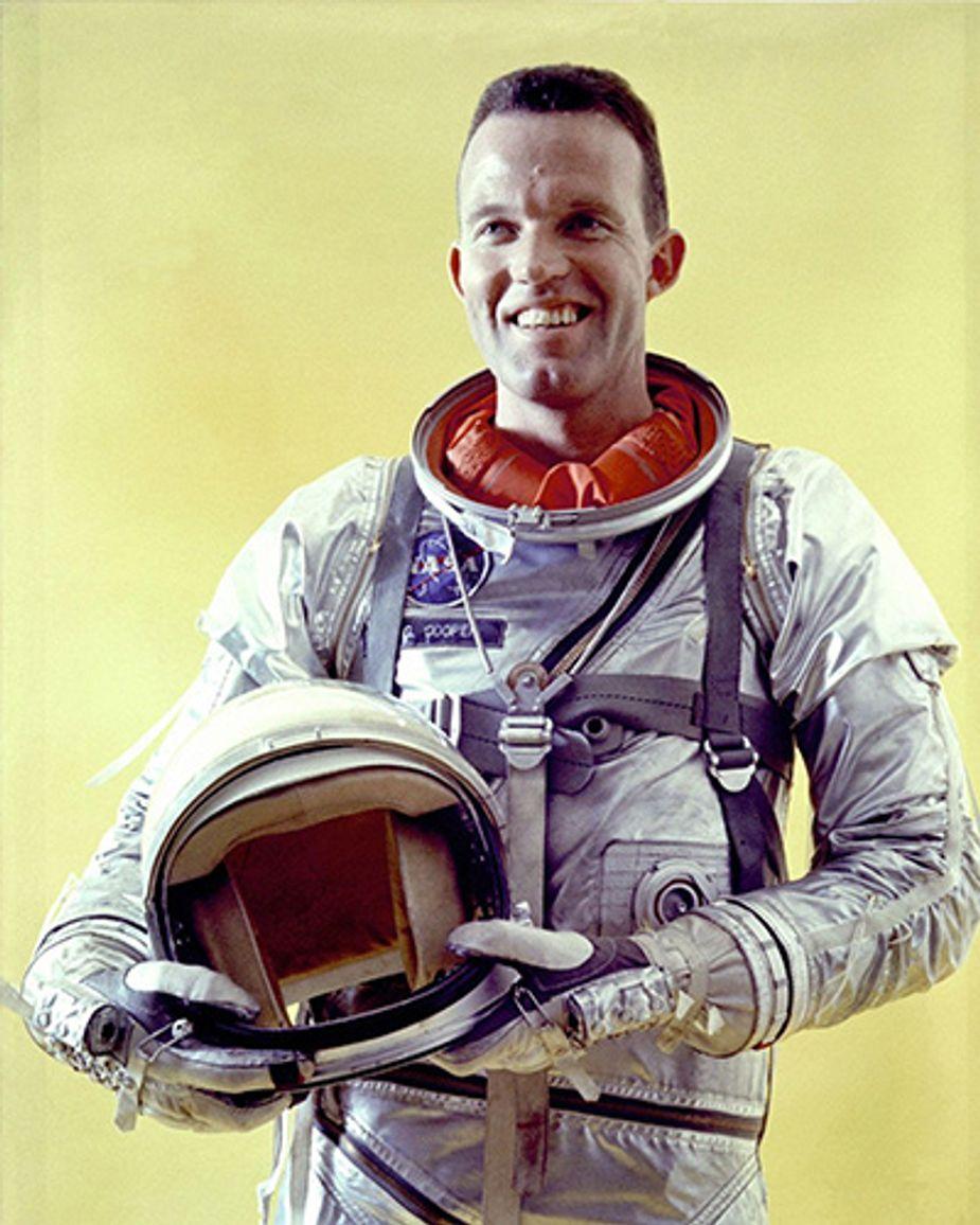 Oklahoma-born astronaut Leroy Gordon Cooper, Jr. Photo courtesy NASA
