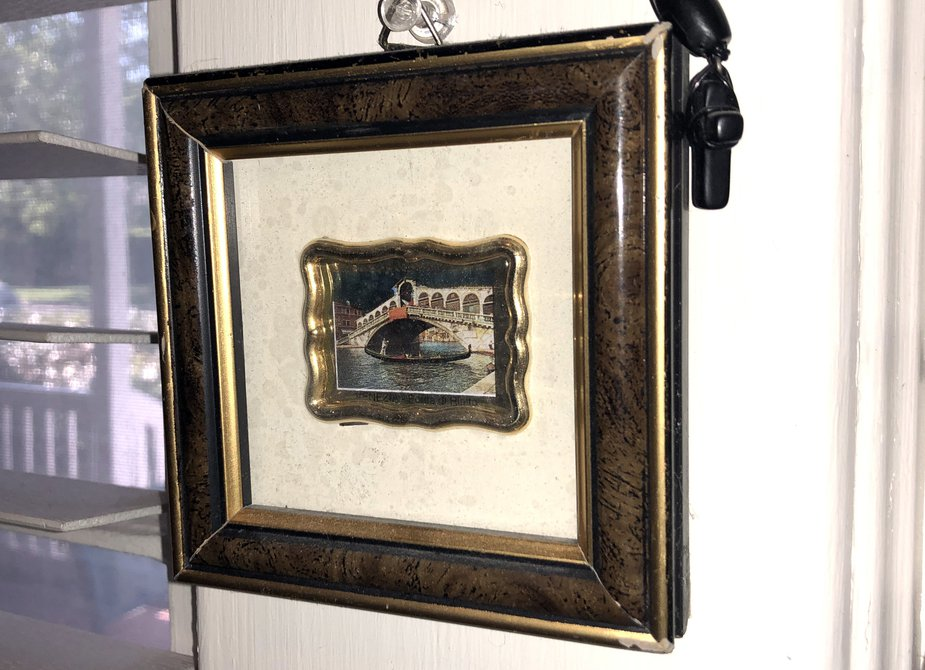Tiny picture in frame