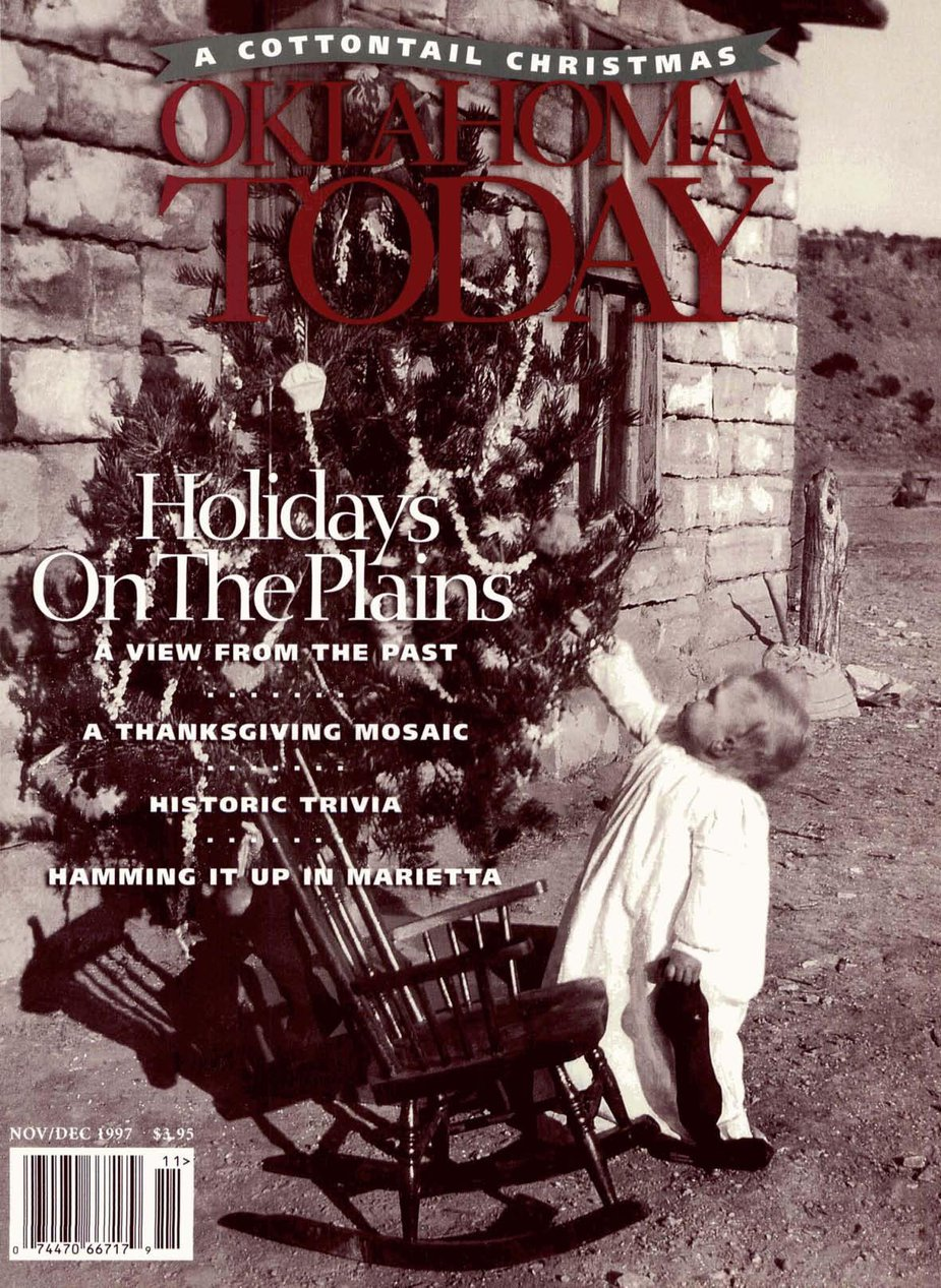 The cover of our November/December 1997 issue