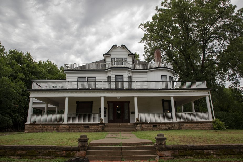 The Stone Lion Inn's Victorian history is apparent in the 1907 home's architectural flourishes and period decor. Whether that history remains in the form of ghosts is up to visitors to decide. Photo by Lori Duckworth