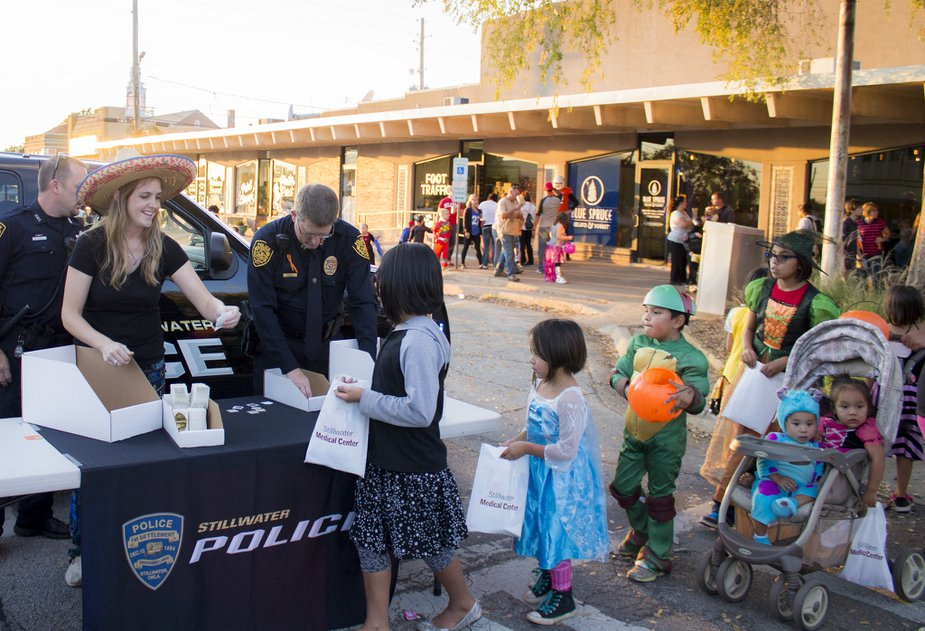 Ghouls, goblins, and plenty of princesses will be out during the Stillwater Halloween Festival. Photo by City of Stillwater.