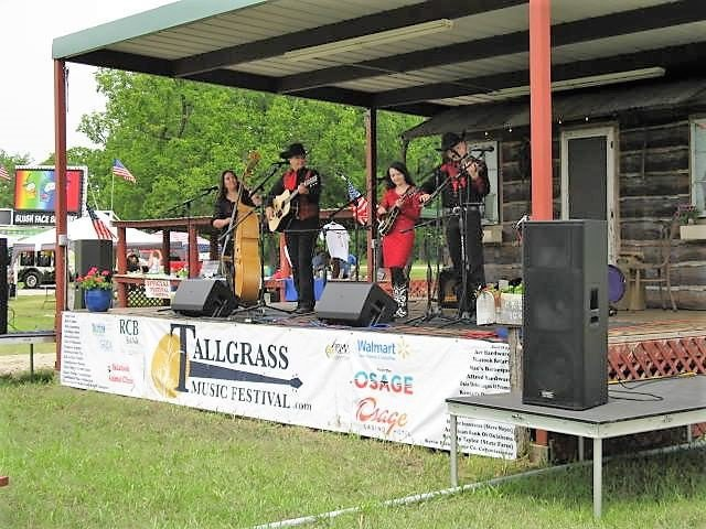 The Baker Family performs at the Tallgrass Music Festival in Skiatook. This year's festival includes a kids area. Photo by Scott Neighbors