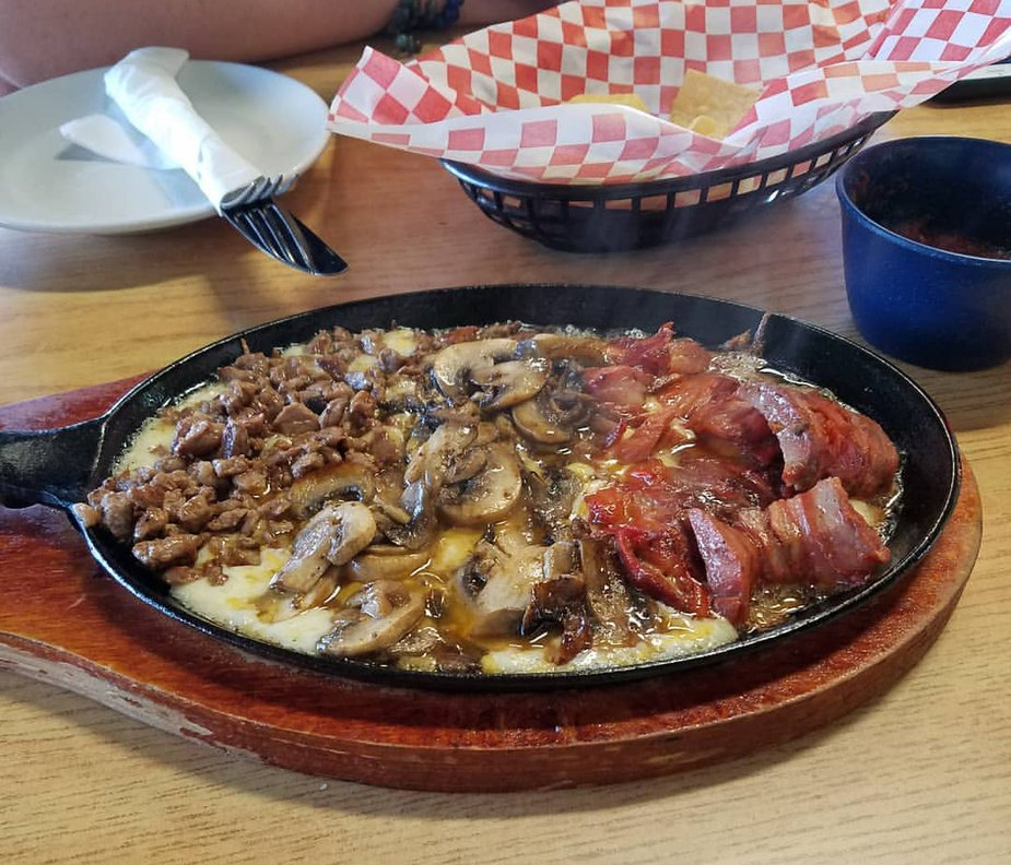 Queso fundido from The Mayan in Oklahoma City. Photo by Megan Rossman.