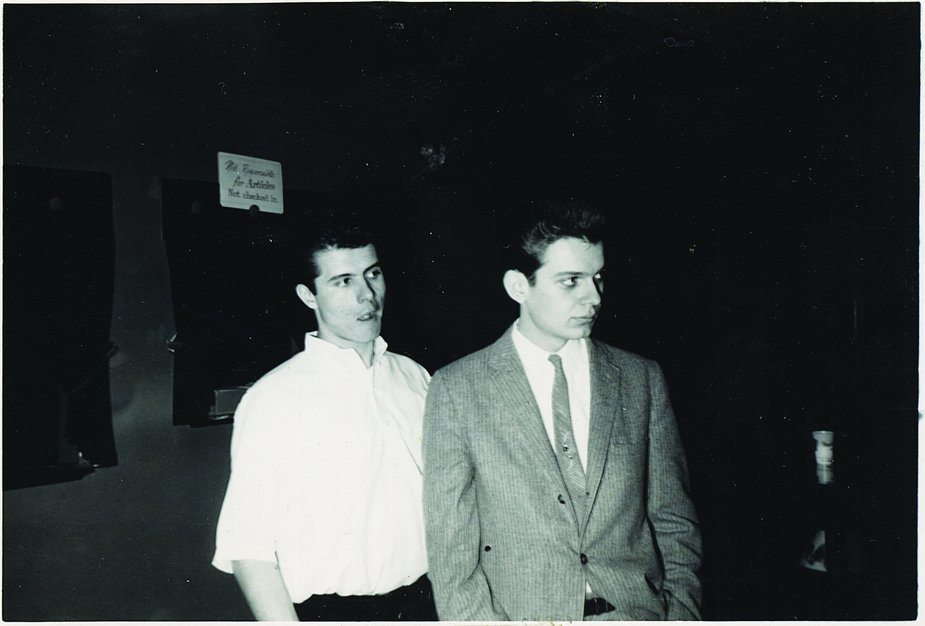 Jimmy Markham and Leon Russell, who at the time used his middle and last name, Russell Bridges, around 1961. Photo courtesy OHS/OKPOP Museum Collections