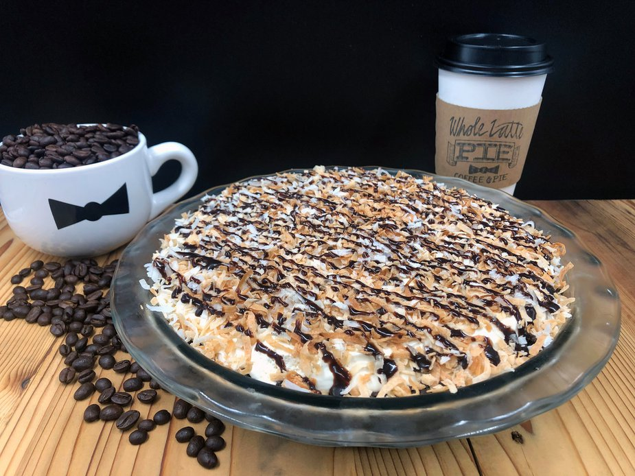 Samoa pie from Whole Latte Pie