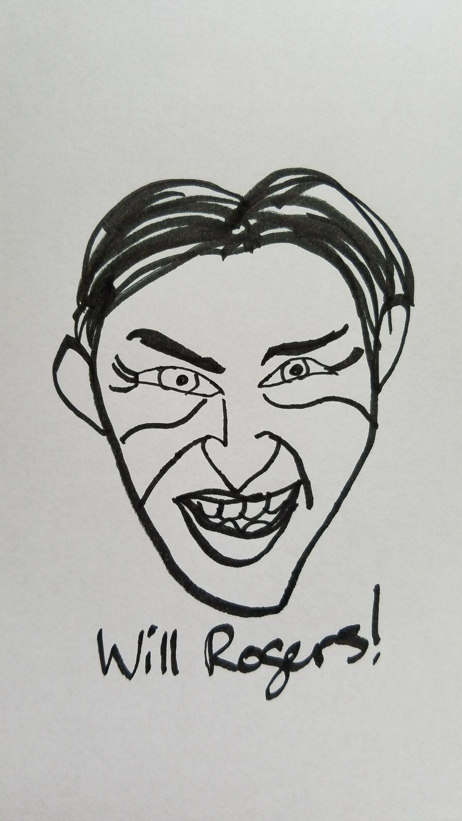 Will Rogers by Megan Rossman