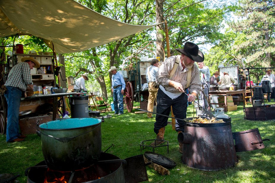 The annual Chuck Wagon Festival at the National Cowboy & Western Heritage Museum is two days of Wild West fun. Photo by Lori Duckworth