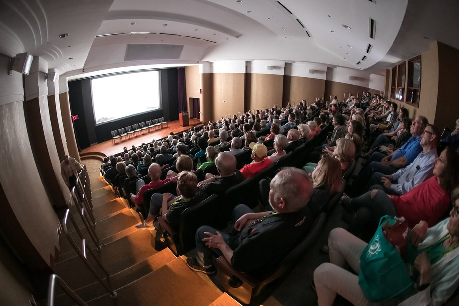 The Oklahoma City Museum of Art was one of more than half a dozen screening venues for the deadCenter Film Festival in downtown Oklahoma City. This year's festival will be virtual. Photo by J. Wiggins