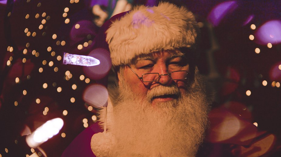 Santa is masking up and asking for kids to sign up online for any visits at Penn Square or Woodland Hills malls.
