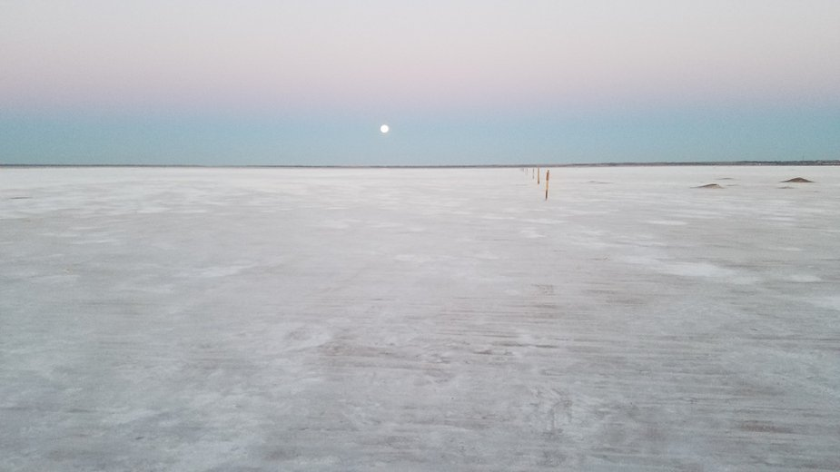 It might look like a good place to run into Jawas, but Great Salt Plains National Wildlife Refuge is actually in Oklahoma. Photo by Megan Rossman.