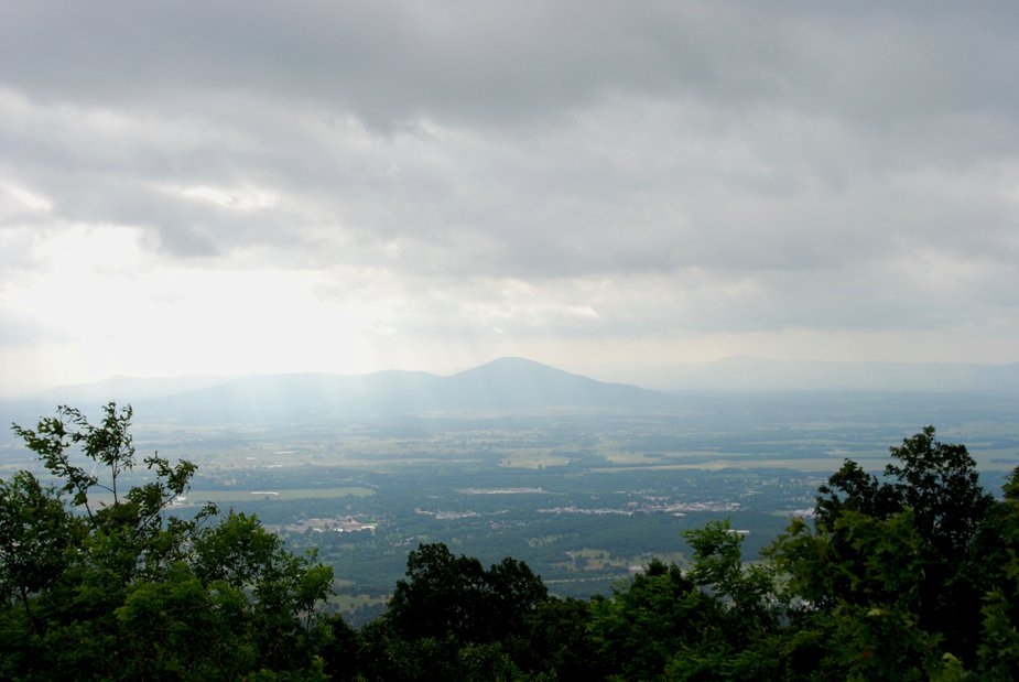 "A view from ""the world's tallest hill"" by Lisha Newman/Oklahoma Tourism."
