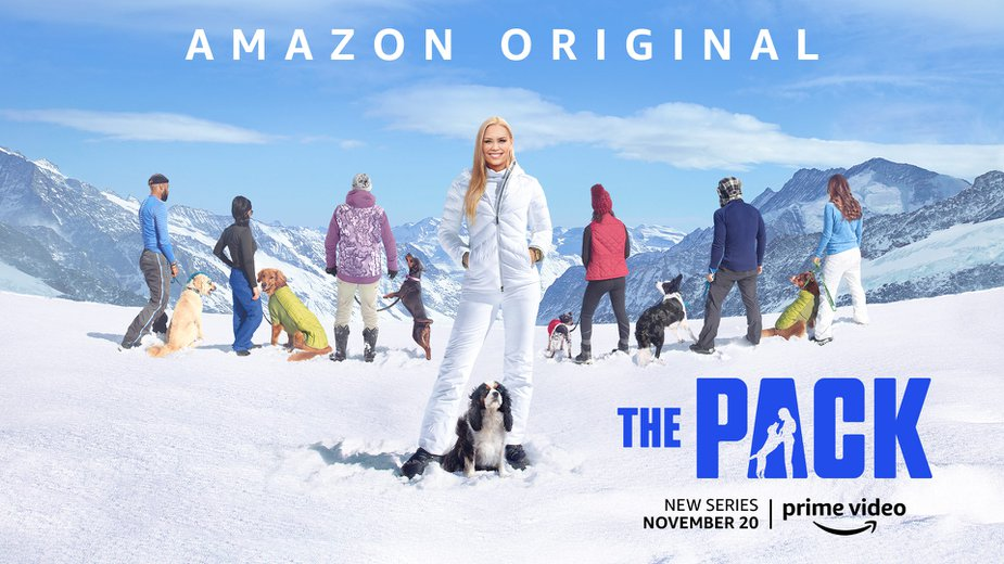 "Amazon's new show ""The Pack"" features Oklahomans Chisum Joe Johnson and Kepo. Photo courtesy Amazon."