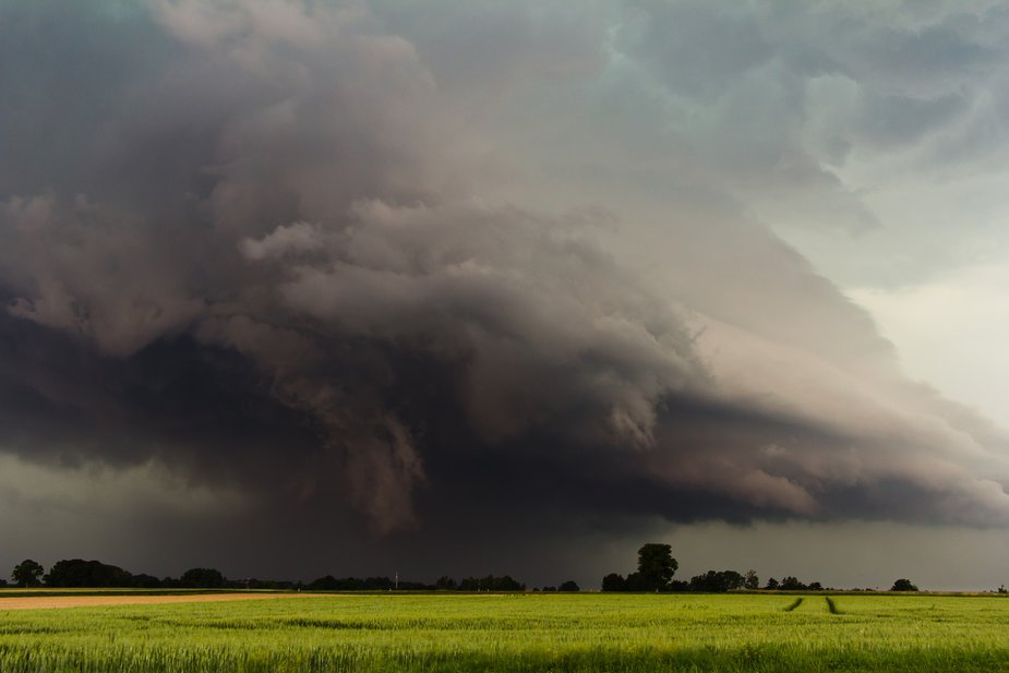 If the sky looks like this, you might need to take shelter. Photo by Tobias Hämmer